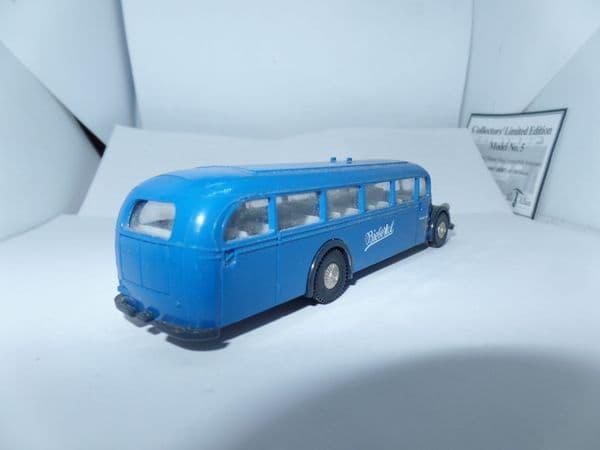 Brekina H0 1/87 Scale MERCEDES-BENZ O 5000 BUS - BIEBERTAL Blue